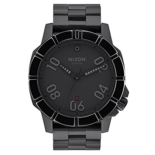 Nixon-Uhr-Star Wars Kaiser Pilot Steel Black Quartz Men A506SW2242