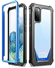 MILITARYGRADEDROPTESTEDSAMSUNG GALAXY S20 RUGGED CLEARCASE-Protects your Samsung Galaxy S20 from all angles. Shockproof/Drop-proof/Impact resistant/Scratch-proof. SAFESCREENPROTECTION-Extraraisedlipsandcornersofthefronthardframep...