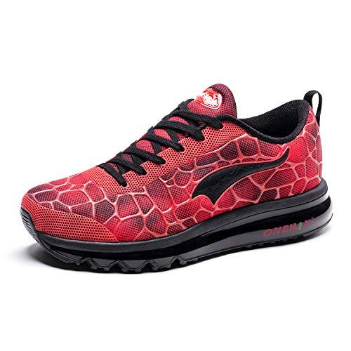 ONEMIX Zapatillas de Running de Hombre Aire Libre Deporte Deportivas Gimnasio Sneakers Transpirables Zapatos Casual