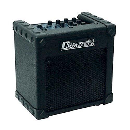 Dimavery 26360160 Deluxe-1 E-Gitarren Amplifier lipfier (10 Watt) schwarz
