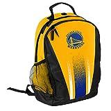 FOCO NBA Golden State Warriors Unisex 2016 Stripe Primetime Backpack2016 Stripe Primetime Backpack, Team Color, One Size