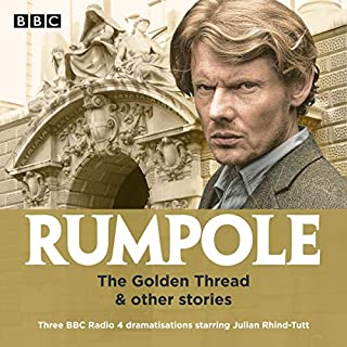 Rumpole: The Golden Thread & Other Stories audiobook cover art