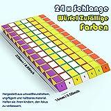 WEARXI Mitgebsel Kindergeburtstag - 24er 24 Blöcke Magische Schlange 3D Puzzle Spielzeug Knobelspiele Kinder, Give Aways Kindergeburtstag Gastgeschenke Jungen Magische Kinder Party Zufällige Farben - 2