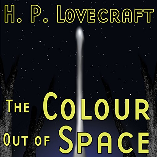 The Colour out of Space (Dramatized)                   By:                                                                                                                                 H. P. Lovecraft,                                                                                        Ron N. Butler                               Narrated by:                                                                                                                                 William L. Brown,                                                                                        Daniel Taylor,                                                                                        Hal Wiedeman,                   and others                 Length: 44 mins     2 ratings     Overall 4.0