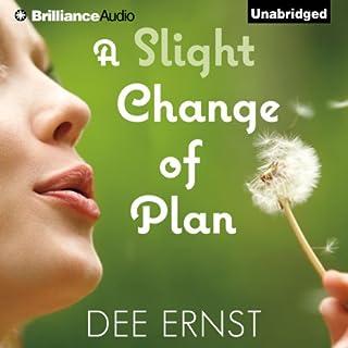 A Slight Change of Plan audiobook cover art