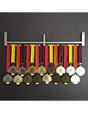 HANG BAR - Wall medal extension - Medal holder - Add up to 30 medals - Sport Medal Hanger - Display Rack - Stainless Steel - 100% Made in Italy