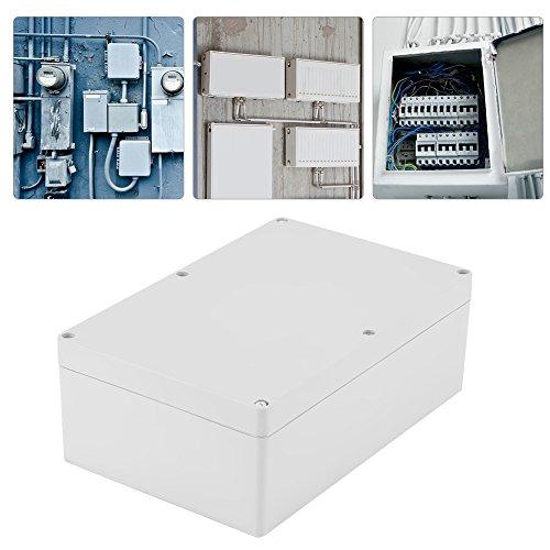 Keenso Elektrische Anschlussdose Outdoor Elektrische Gehäuse Box IP65 Wasserdichte Anschlussdosen Kabelverbinder ABS Kunststoff Projekt Box Gehäuse (230 * 150 * 85mm)