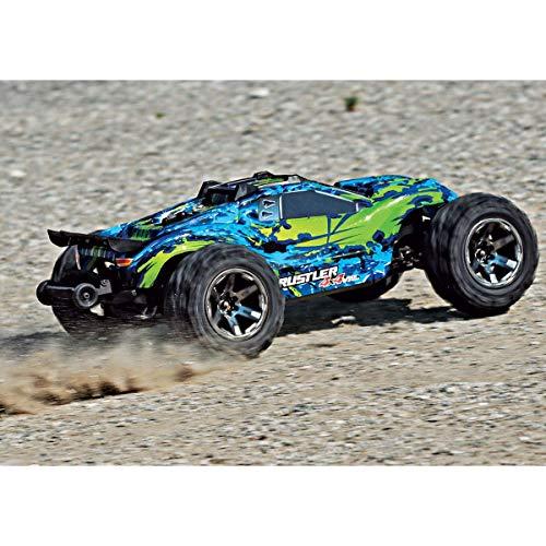 RC Truggy kaufen Truggy Bild 1: Traxxas Rustler 4x4 VXL Brushless 1:10 RC Modellauto Elektro Truggy Allradantrieb (4WD) RTR 2,4 GHz*