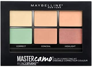 Maybelline New York New York New York New York Master Camo Concealer and Face Correcting Kit
