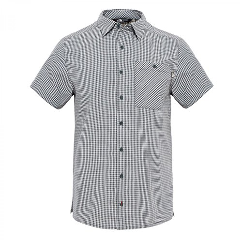 The North Face Hypress Chemise Homme, Spruce Green Plaid, FR : M (Taille Fabricant : M)