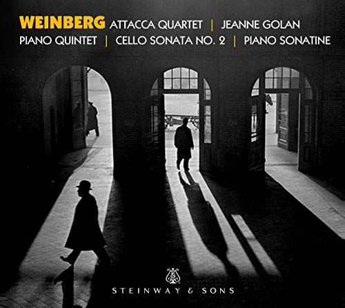 Weinberg: Piano Quintet / Cello-Sonate Nr. 2 / Piano Sonatine