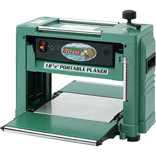 "Grizzly Industrial G0505-12-1/2"" 2 HP Benchtop Planer"
