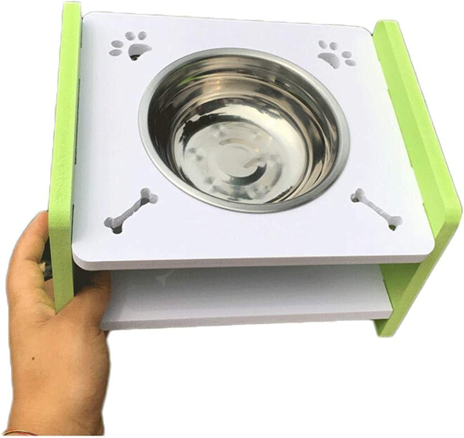 Pet feeder,Multifunction Cat and dog Easy to clean Easy to carry Nonslip Solid and durable Natural Healthy