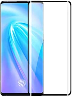 [2 Packs] vivo NEX 3S 5G Screen Protector, vivo NEX 3S 5G Full Coverage Screen Guard, Tempered Glass HD Clear Screen Prote...