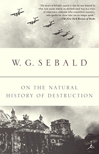 On the Natural History of Destruction (Modern Library Classics (Paperback))