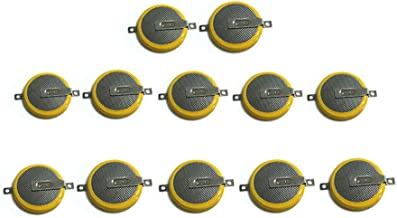 CR1616 Batteries with Tabs,12 Pack CR1616 Lithium Replacement Save Battery for Nintendo Game Boy, GB Color, Advance and Pokemon Games