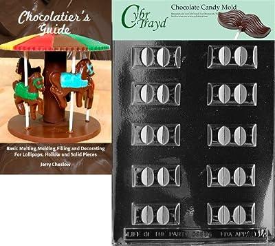 Cybrtrayd Bk-AO014 Break Apart Bar All Occasions Chocolate Candy Mold