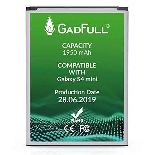 GadFull Batería de reemplazo para Samsung Galaxy S4 Mini   2019 Fecha de...