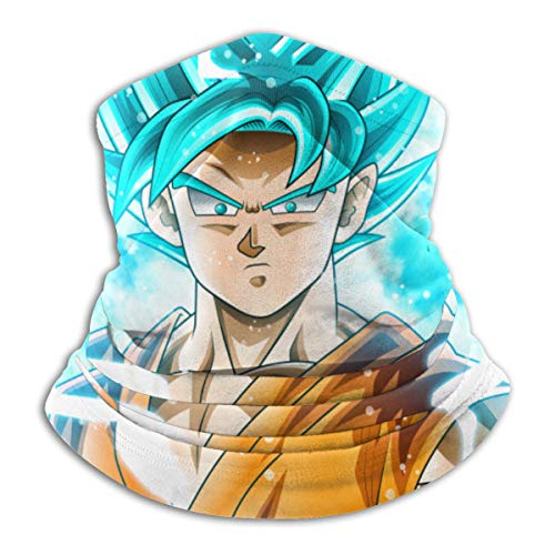 Jiadourun Dragon Ball Goku - Bufanda de microfibra para el cuello, suave, unisex,...