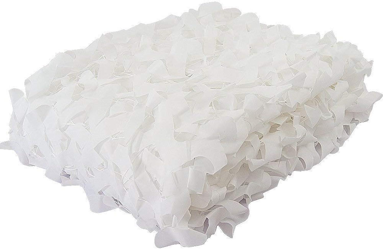 Camo Sunshade Snow White Camouflage Netting Highend Bars Decoration Nets Lightweight Military Shooting Hide Camo Nets (Size   3x5m)