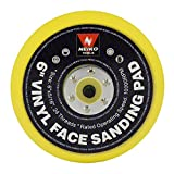 Neiko 30262A 6' Vinyl Face Sanding and Backing Pad, 5/16 Inch 24 Thread Mount Disc | Ideal for Orbital and Dual Action DA Sanders