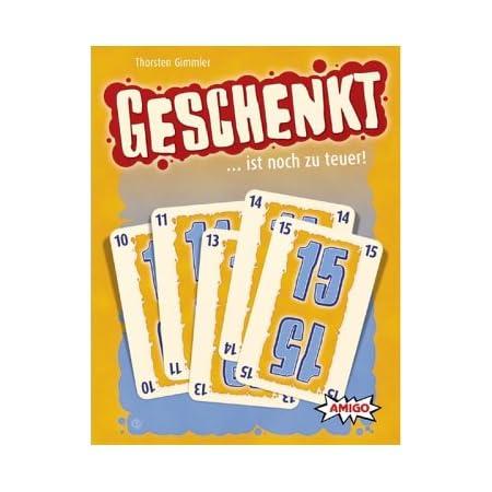 Geschenkt ist noch zu teuer / Kartenspiel. Für 3-5 Personen