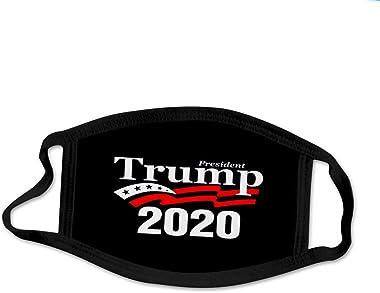 LBK 1pc Trump Printed Cotton Washable Adjustable Cartoon Filter Breather Valve_Masks