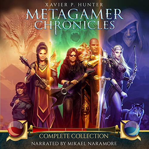 Metagamer Chronicles audiobook cover art