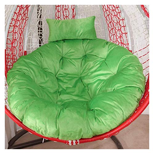 HLZY Outdoor Cushions for Patio Chairs Thicken Round Papasan Cushion Velvet Patio Swing Chair Cushion for Outside Overstuffed Hanging Egg Hammock Chair Cushion Seat Cushion Pad Deck Chair Cushions