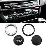 TTCR-II Compatible con mando de aire acondicionado BMW, botón de control de climatización, interruptor de ajuste de ac para BMW Serie 5 F10 F11, 6' F12 F13, 7 ' F01 F02,X5 F15,X6 F16