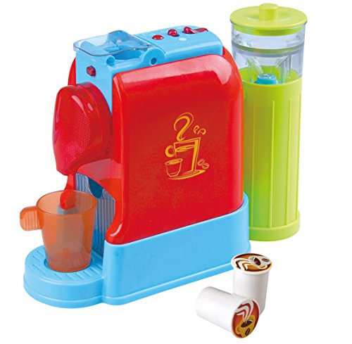 PlayGo Gourmet Kaffeemaschine Kinder Kapsel Espressomaschine rot blau