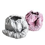 Best Soft Bonnet Hair Dryers - Kingzhuo 2 Pcs Bonnet Hair Dryer Portable Safe Review