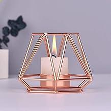 Candlestick Geometric Candlestick Wedding Decoration Hollow Candlestick Home Decoration Metal Iron Handicraft Candle Holde...