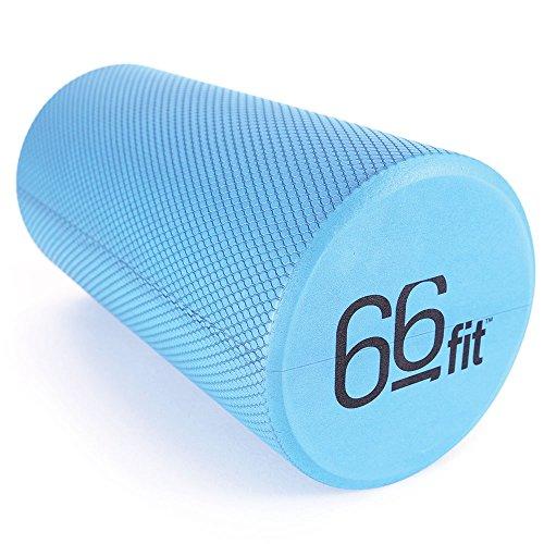 66Fit Eva-Schaumstoffrolle - Blau - 10 cm x 90 cm