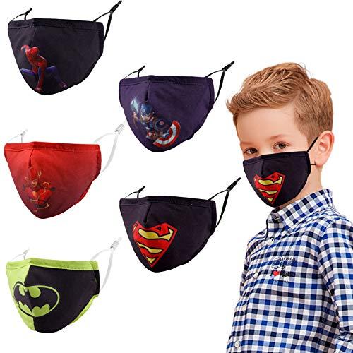 Super hero cloth masks for kids
