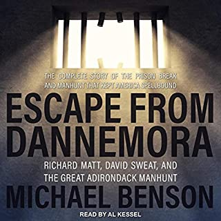Escape from Dannemora audiobook cover art