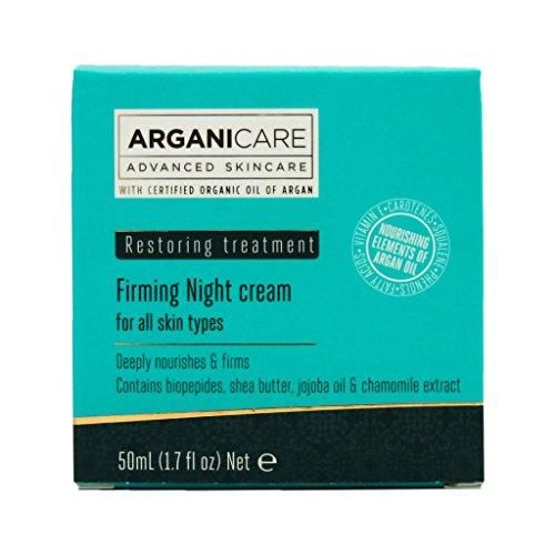 Arganicare Argan Oil Firming Night Cream, 1.7 Fluid Ounce