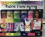 Simply Spray Fabric Spray Paint, 6-Pack