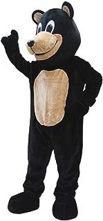 Black Bear Mascot Costume for Adult Men Women Animal Cartoon Costume