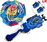 Battling Tops Bey Battle Gyro Brust B-127 Starter Super-Z Cho-Z Valkyrie Z.Ev Game Toy Spinning Toy Gift for Boys(Forfait B)