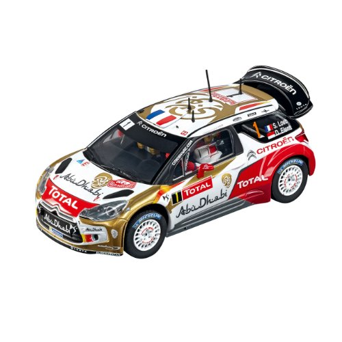 Carrera Evolution - 20027460 - Voiture De Circuit - Citroën Ds3 Wrc Total Abu Dhabi - No.1