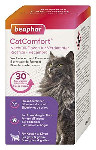 beaphar CatComfort Nachfüll-Flakon, Beruhigungsmittel für Katzen mit Pheromonen
