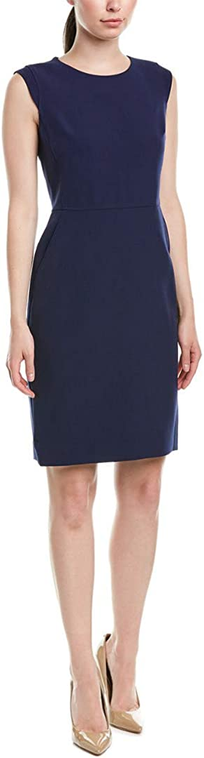 Anne Klein Womens Cap Sleeve Office Wear to Work Dress
