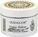 Körperbutter Greendoor Argan-Creme OHNE Glimmer Argan-Sahne aus BIO Arganöl und