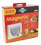 Staywell 932 Magnetic Locking Cat Flap Pet Door White