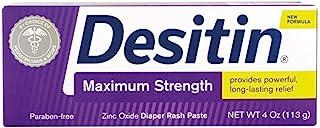Desitin Paste Tube Max Str 4 Oz
