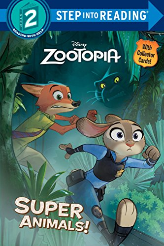 Super Animals! (Disney Zootopia) (Step into Reading, Band 1)
