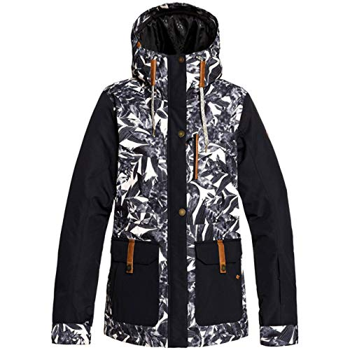 Roxy Andie-Chaqueta Nieve Mujer, Oyster