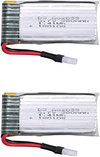 Holy Stone 2pcs 3.7V 380mAh Lipo Battery for The Controller/Transmitter of RC Quadcopter Drone HS230