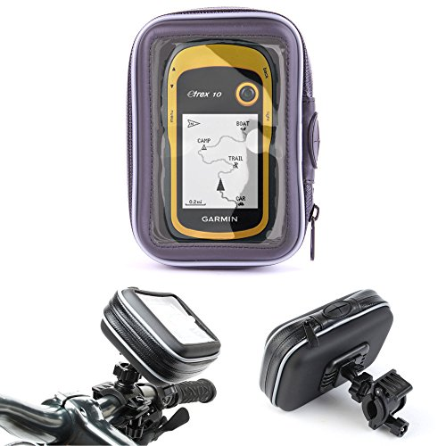 Duragadget - Soporte de bicicleta (112 mm) para navegadores Garmin Nuvi Edge 800, Edge 810, Dakota 20, Dakota 10, eTrex 30, eTrex 20, eTrex 10 y Nuvi 30